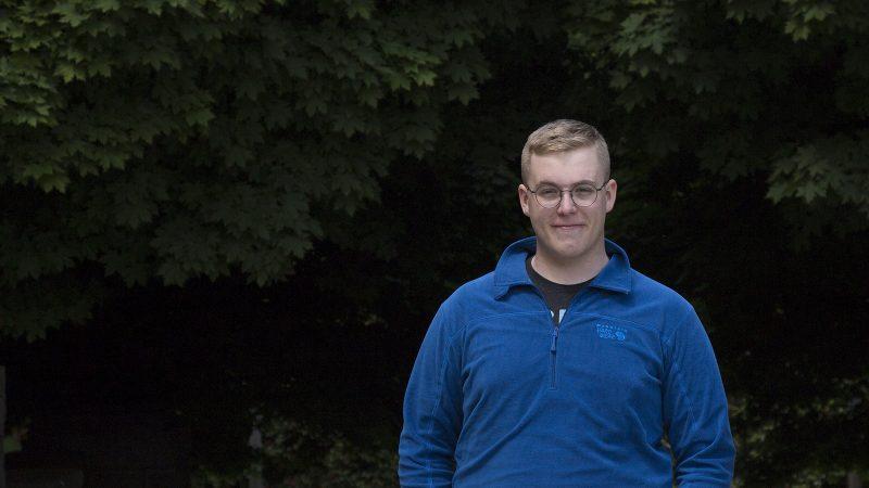 Northland College graduate Matthew Koszuta