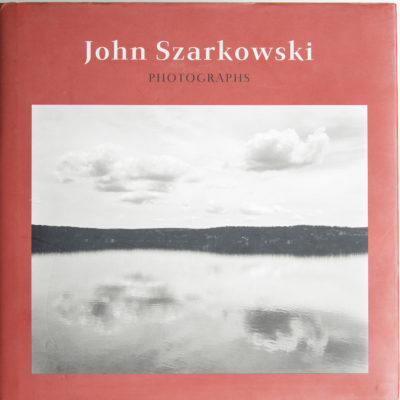 Cover of John Szarkowski's collection of photographs