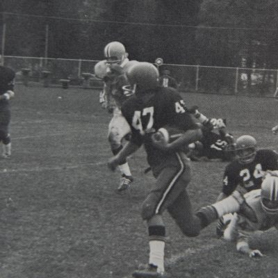 Historic photo of Northland College football.