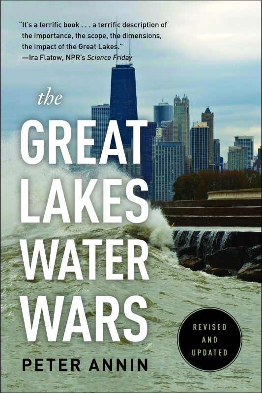 book cover of Great Lakes Water Wars