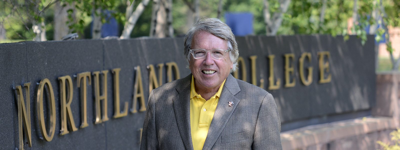 Northland College President Marvin Suomi
