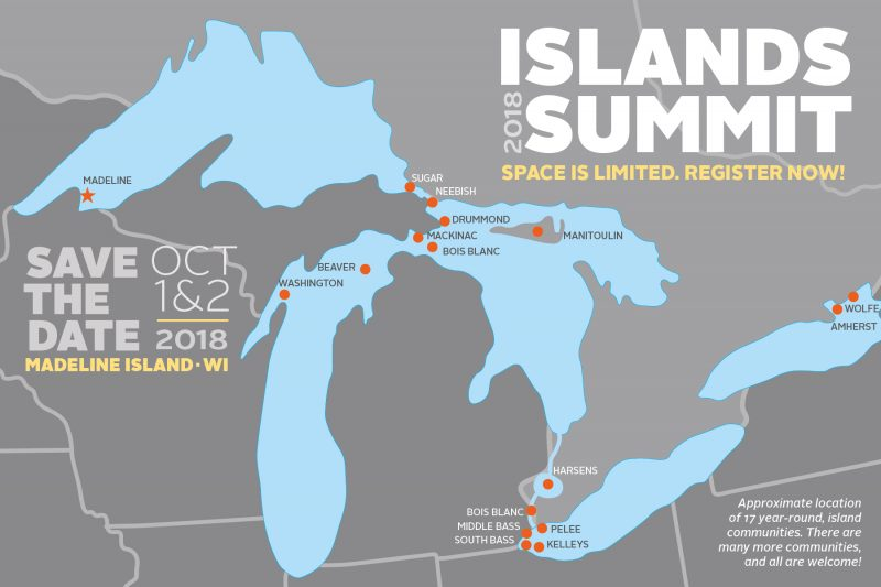 Islands summit save the date image 2018