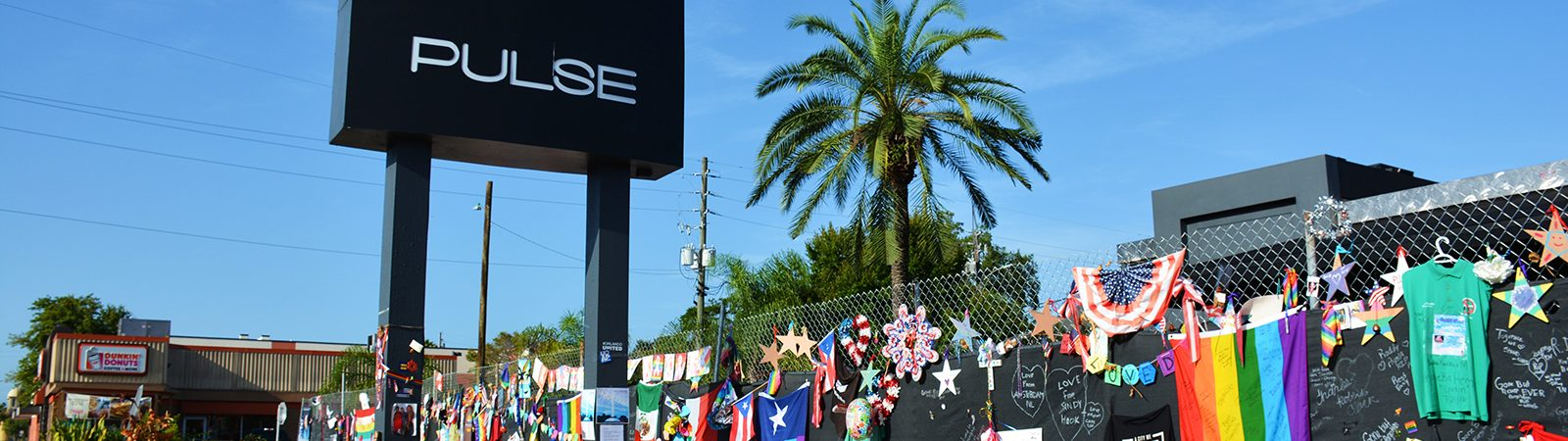 Fence memorial at Pulse