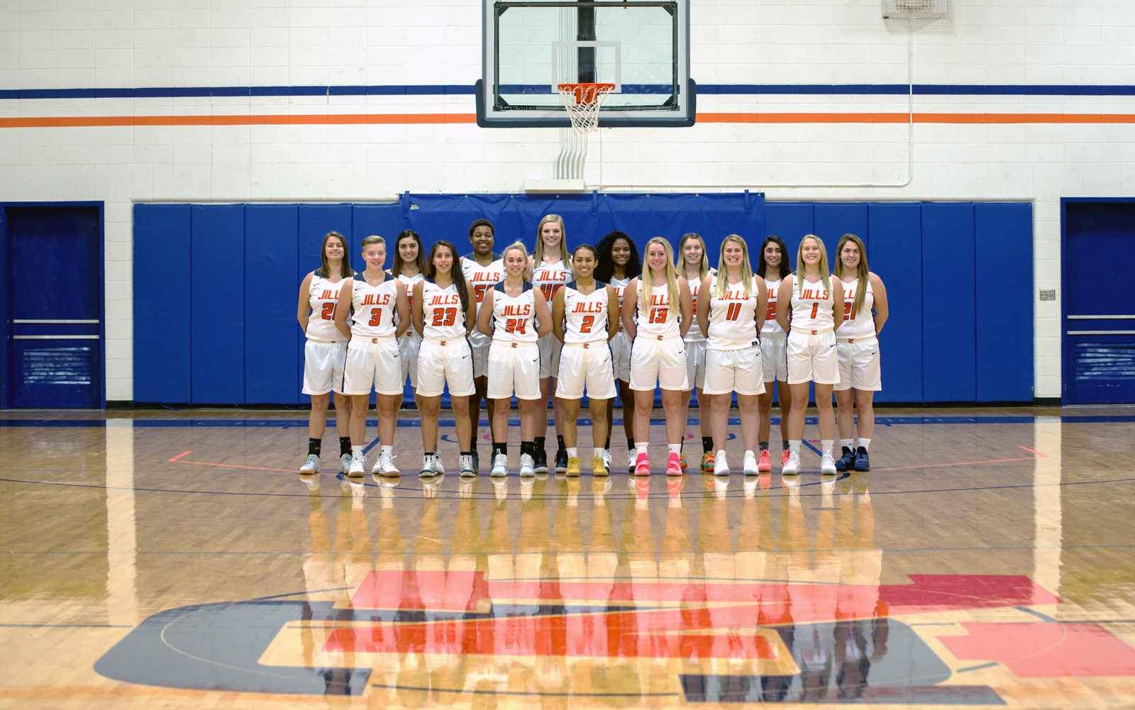 Women's Basketball Team Photo 2018