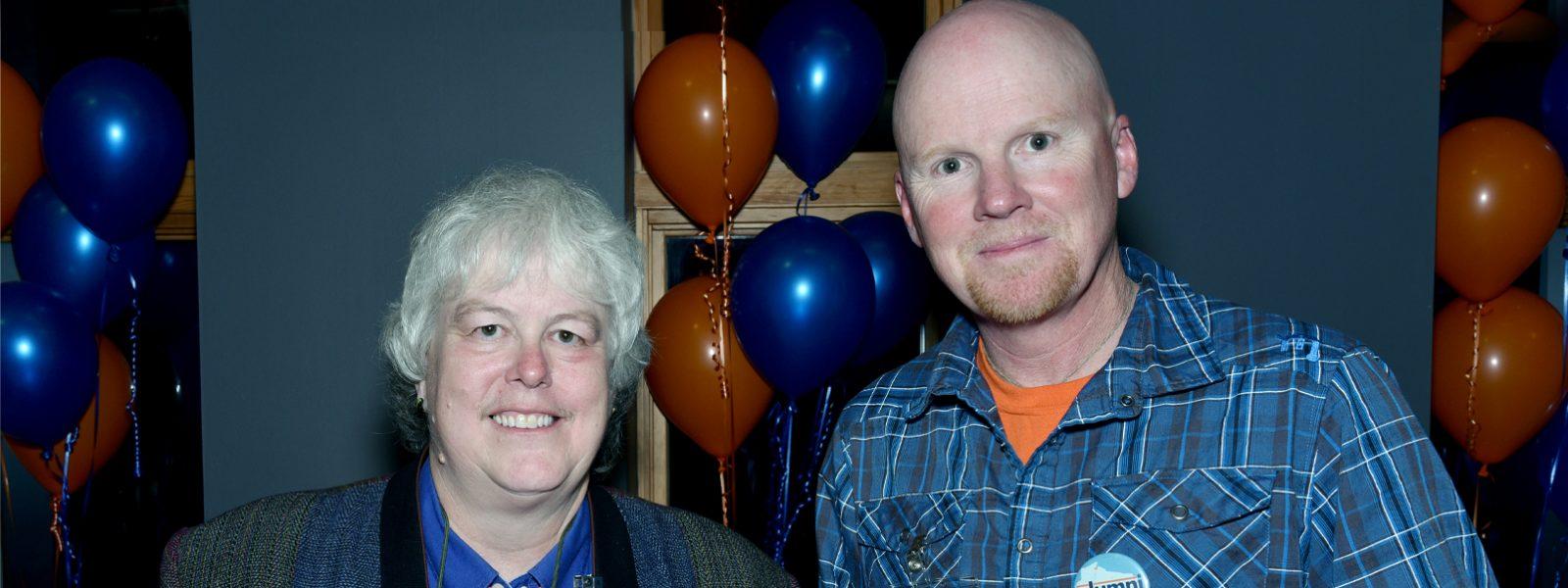 Northland College alums Derek Ogle and Tam Hofman