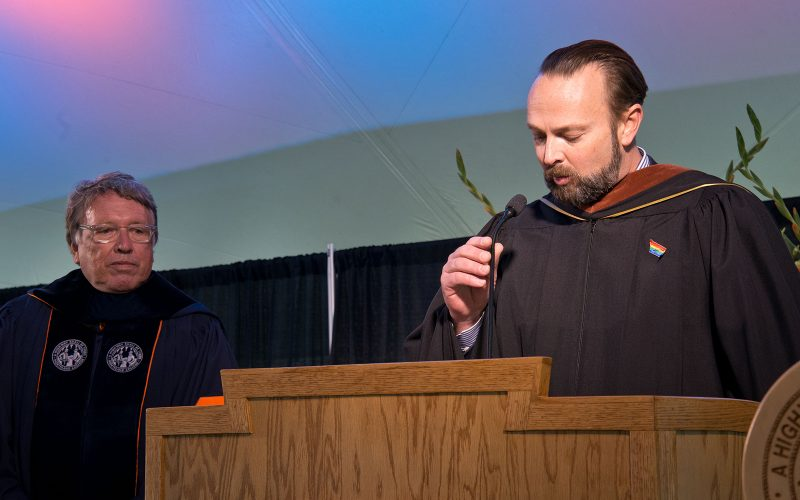 Northland College President Suomi Inauguration Celebration Cad Dayton Board of Trustees Chair