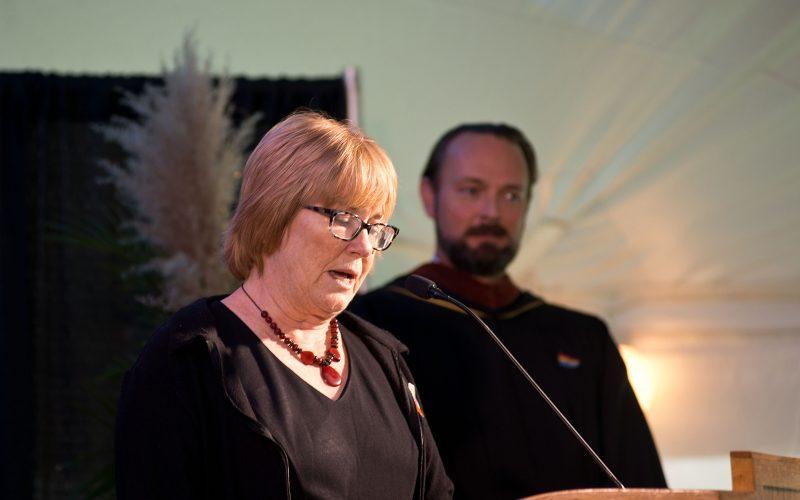 Northland College President Suomi Inauguration Celebration Ashland Mayor Debra Lewis