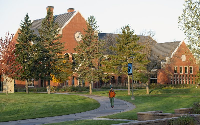 Northland College Ponzio Campus Center in Fall