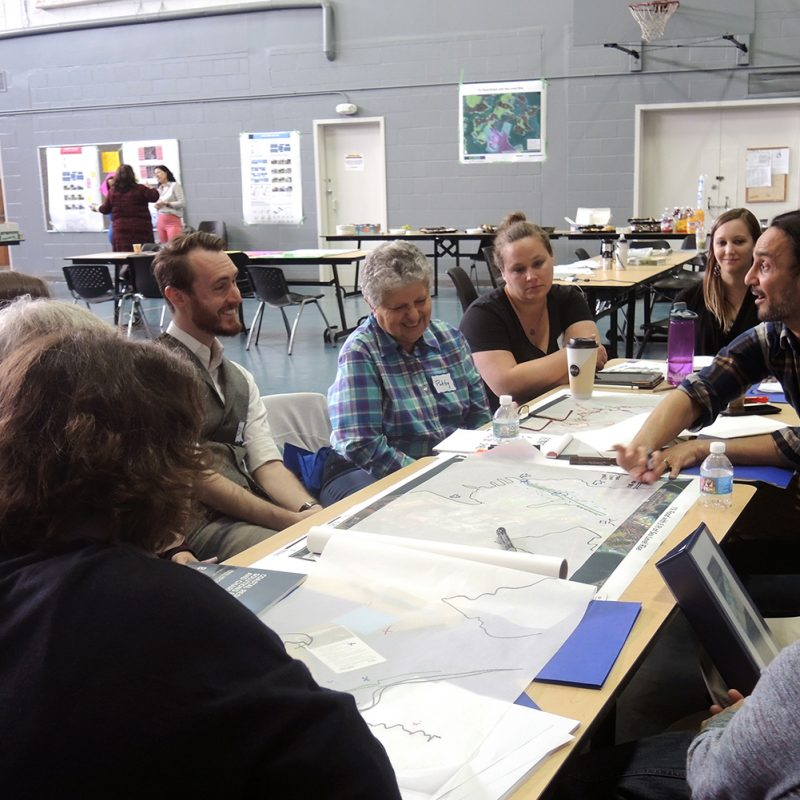 Planning meeting around climate change resiliency issues
