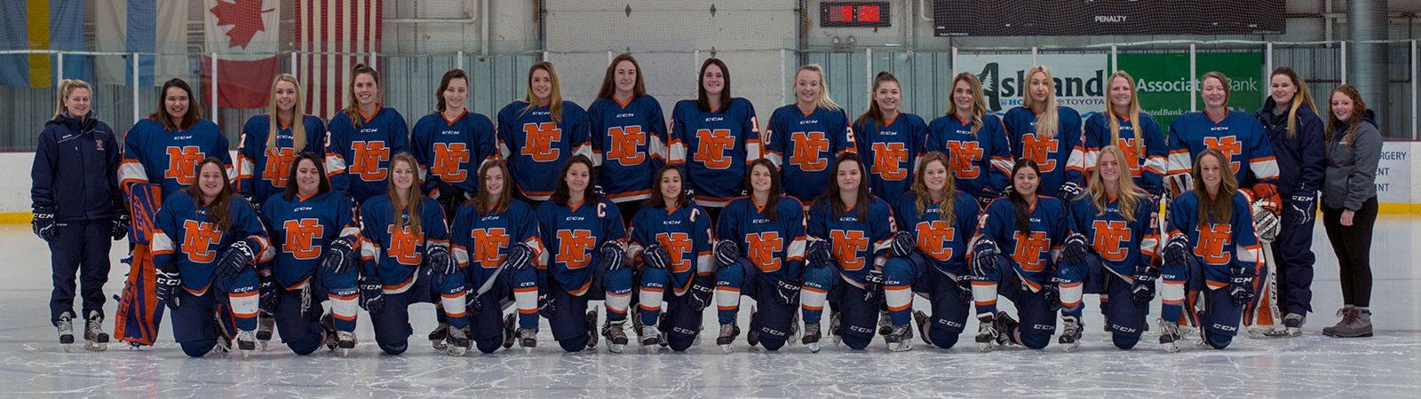 Womens Hockey 2018-19 Team