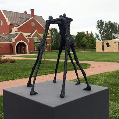 Deliberate Northland College sculpture