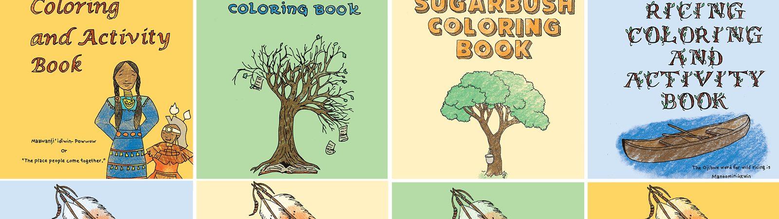 Ojibwe Coloring Books