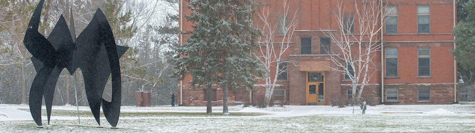 Wheeler Sculpture at Northland College
