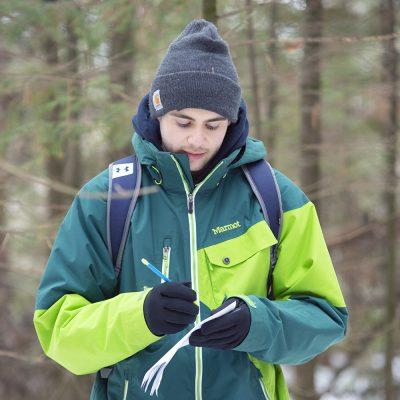 Wildlife Ecology student