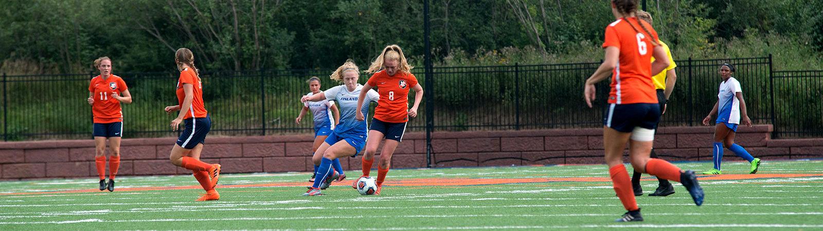 Northland College LumberJills soccer 2018-19