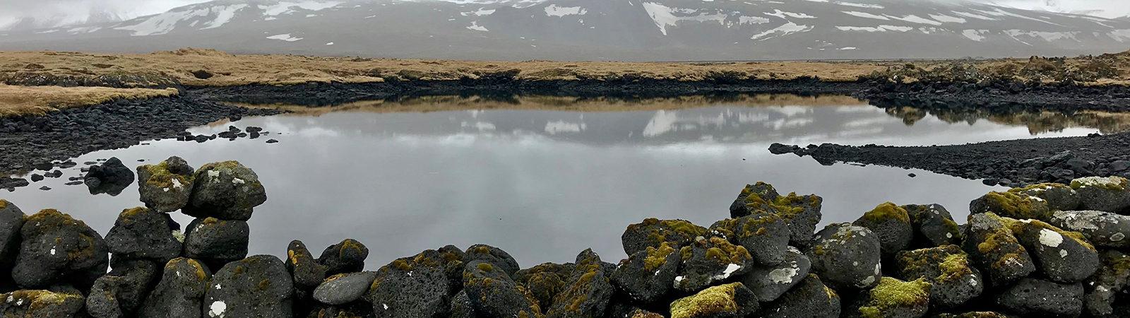 Iceland. Photo taken by Northland College student Alec Drachenberg