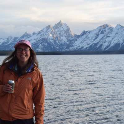 Northland College geology student Karlee Prince