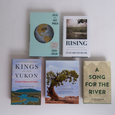 Winning book covers of Sigurd F. Olson Nature Writing Awards