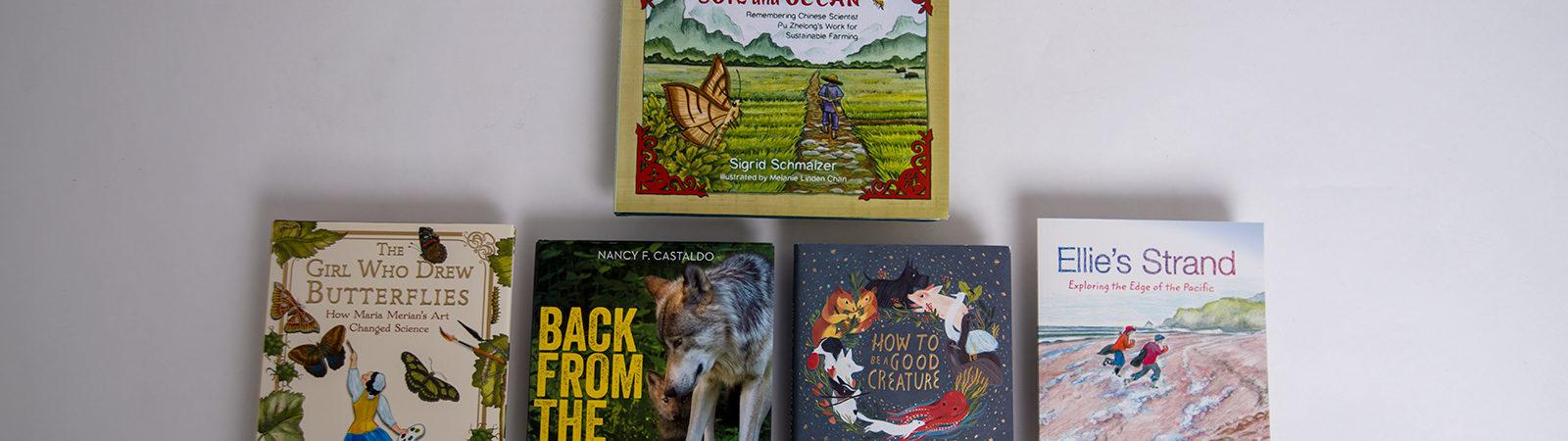 SONWA children's winning book covers