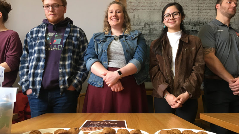 Vegan and gluten-free, Northland College business student created a winning cookie dough recipe.
