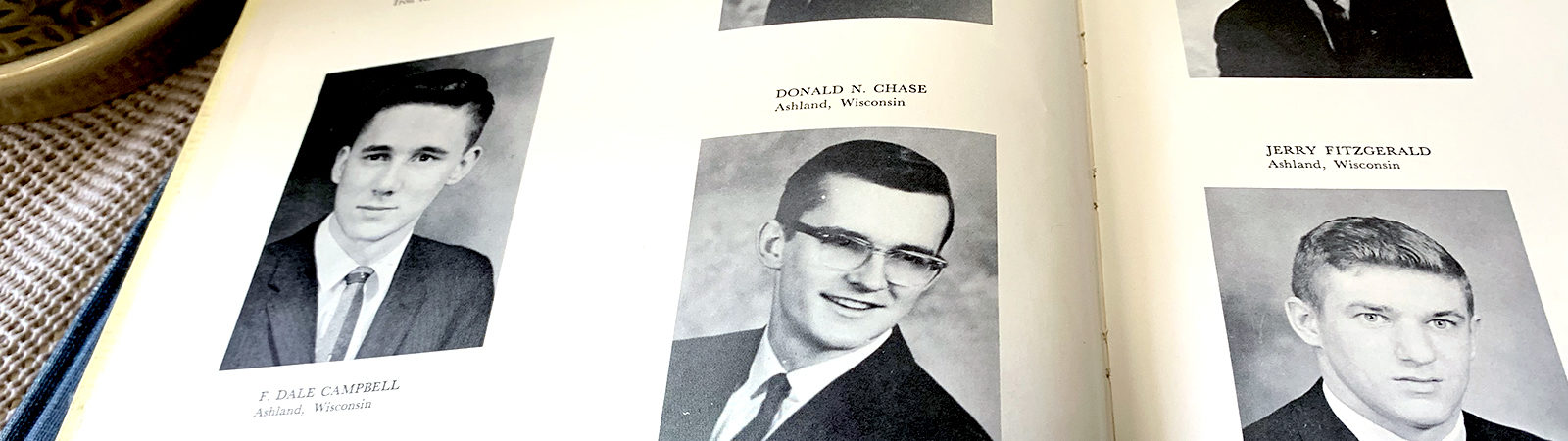 Yearbook photo of Don Chase