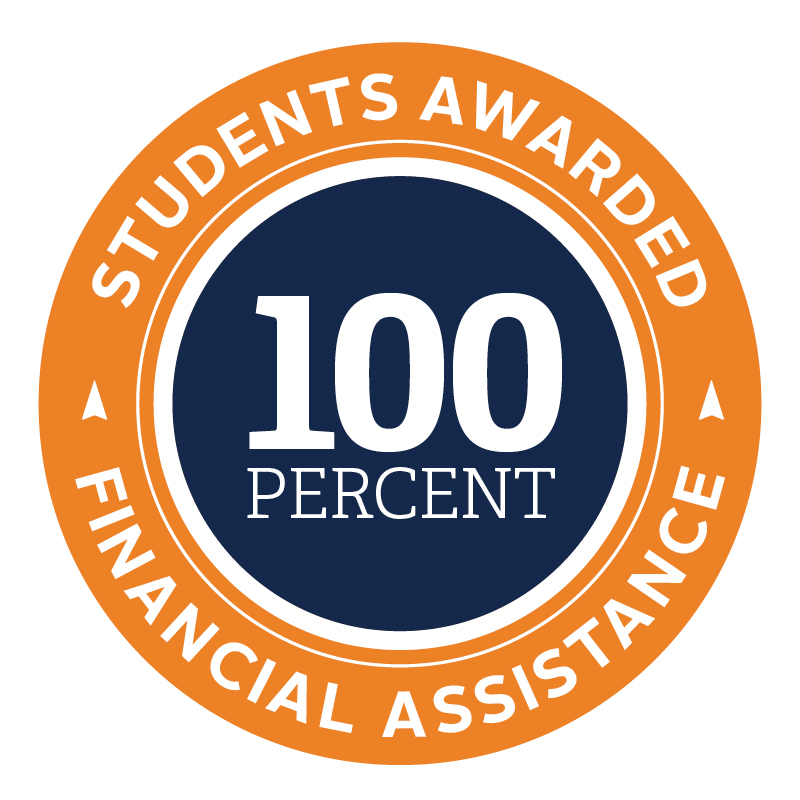 100% of northland students receive financial aid