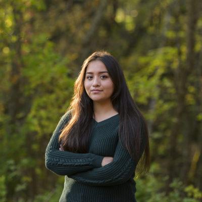 Northland College student Mya Simon