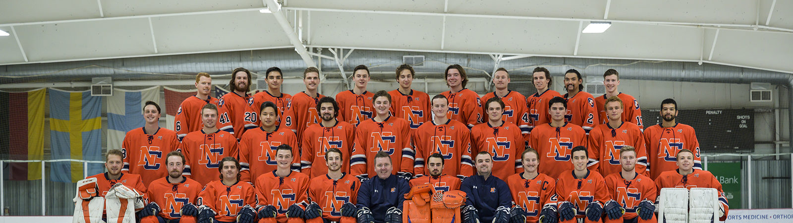 Northland College Men's 2019 Hockey Team