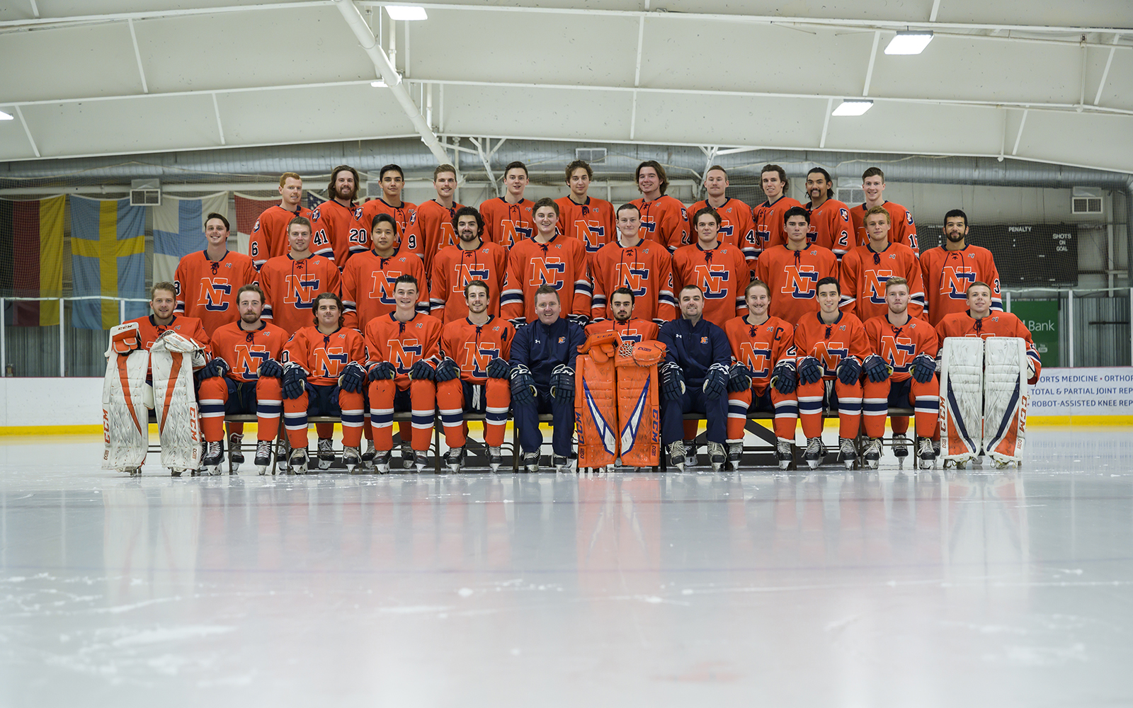 Northland College Men's 2019 Hockey Team