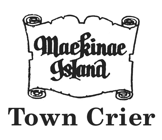Mackinac Island Town Crier Logo