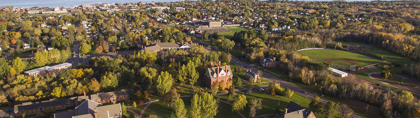Northland College campus.