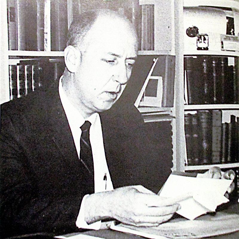 President Richard P. Bailey<br />1962-1968