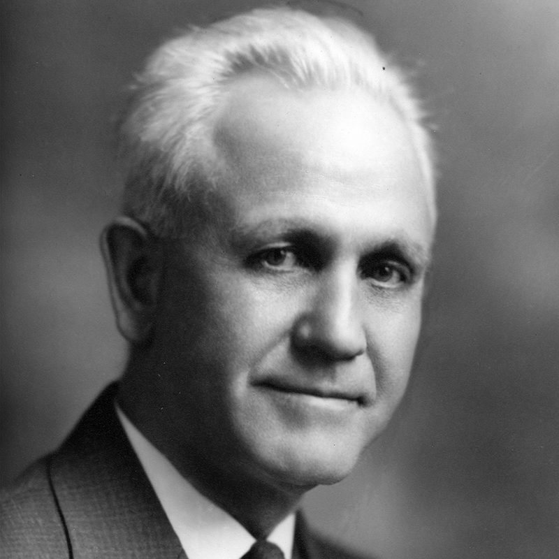 President Joseph D. Brownell<br />1914-1942