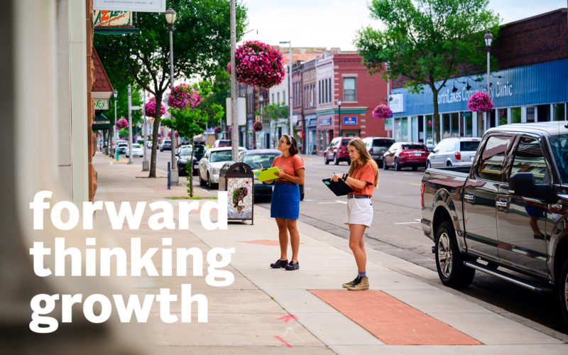 Center for Rural Communities, Forward Thinking Growth