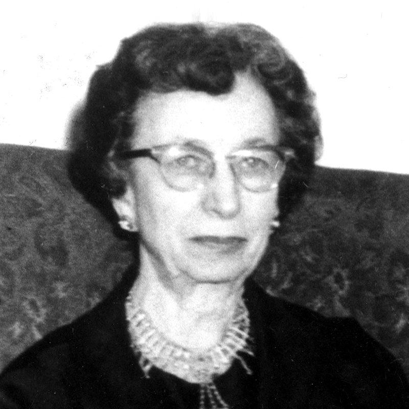 Acting President Harriet Harmon Dexter<br />1971