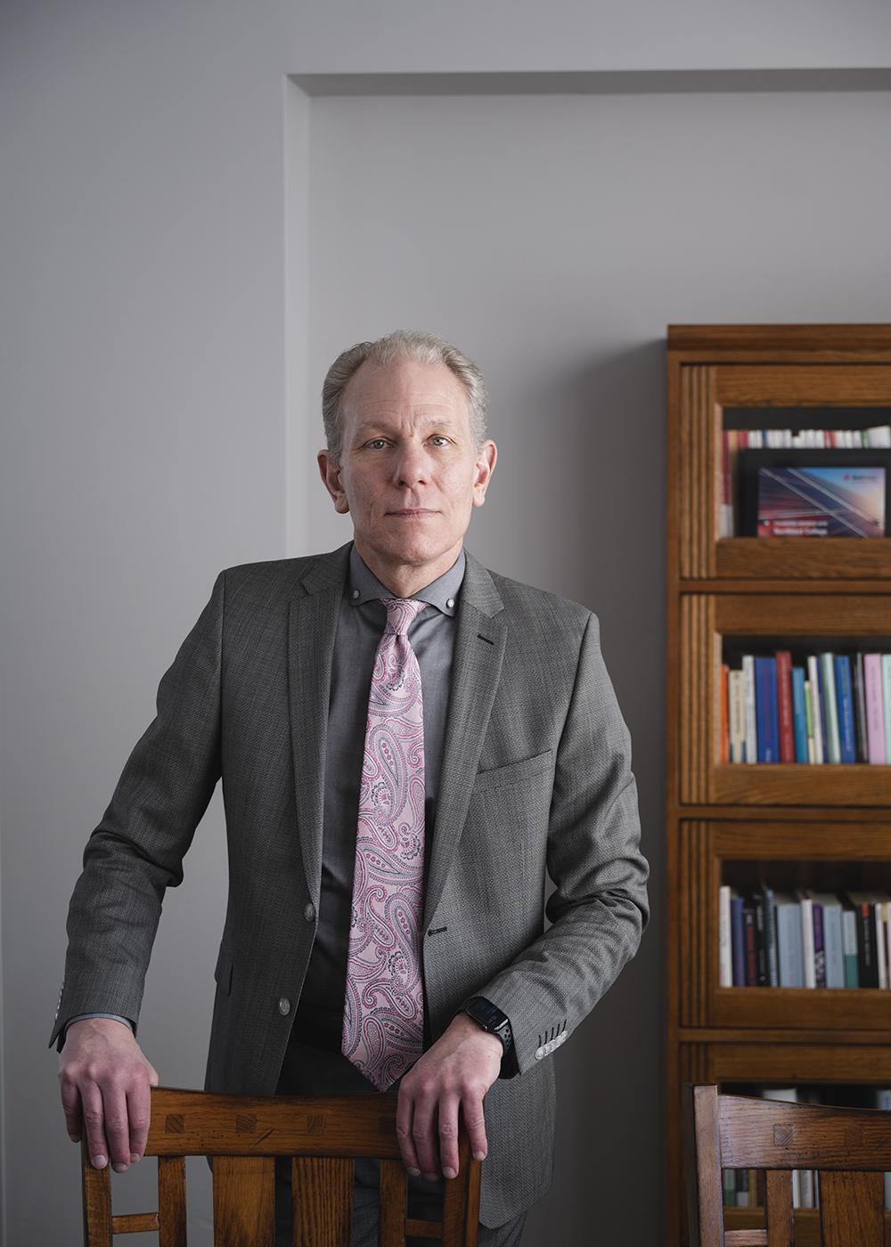 Northland College President Karl Solibakke