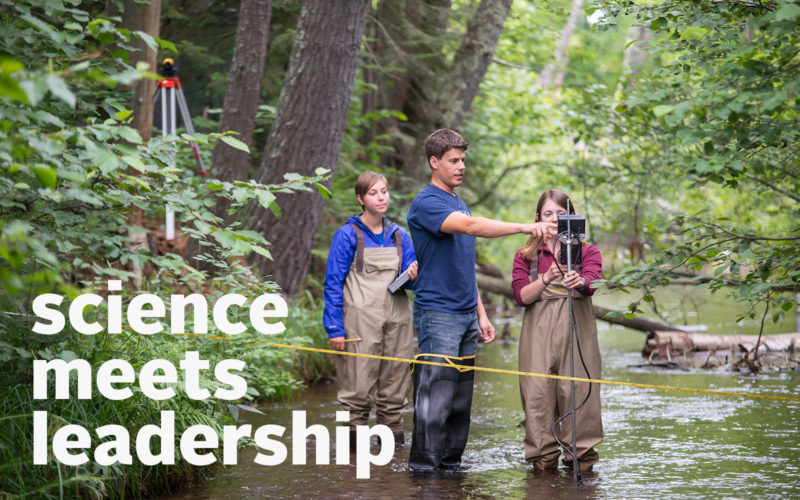 Mary Griggs Burke Center for Fresh Water Innovation, Science Meets Leadership
