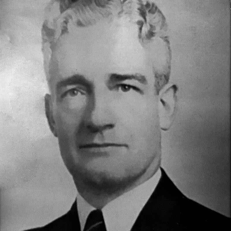 President Manley E. MacDonald<br />1945-1947