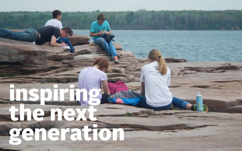Sigurd Olson Environmental Center, Inspiring the Next Generation