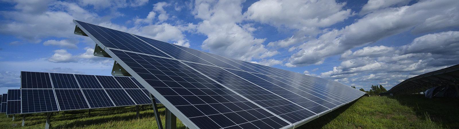 Solar Garden in Ashland Wisconsin