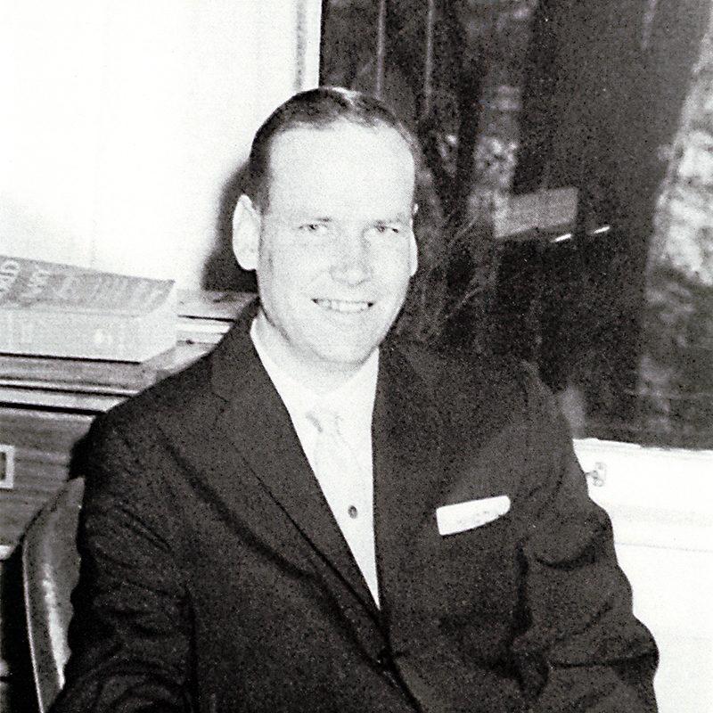 President Gus Turbeville<br />1953-1962