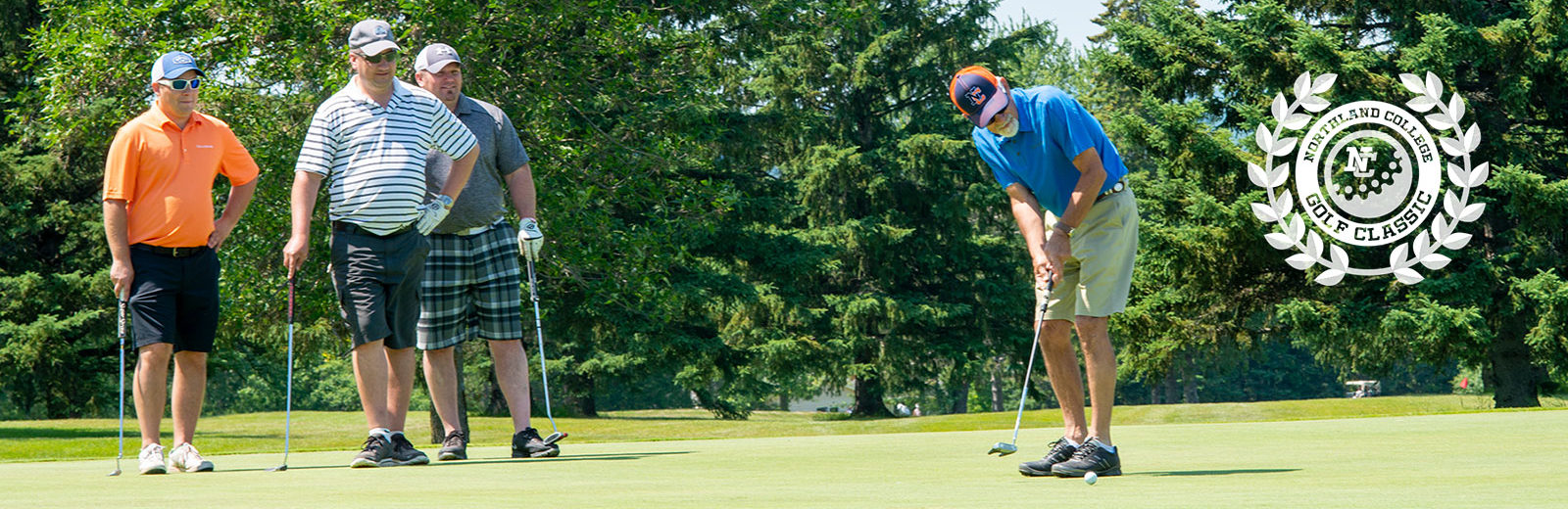 Golf Classic foursome