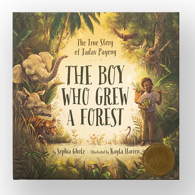 2019-SONWA Children Winner Award, The Boy Who Grew A Forest, Sophi Gholz