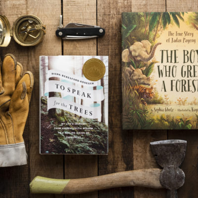 2019 SONWA Winning books, To Speak for the Trees and The Boy Who Grew a Forest