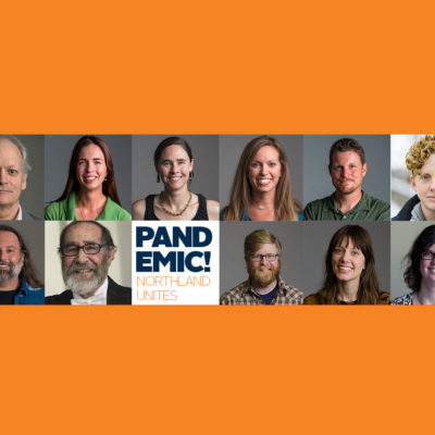 Collage of Northland College professors who will be teaching a course on the pandemic