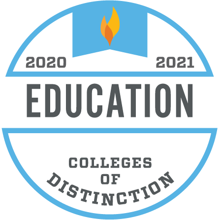 College of Distinction for Education Badge