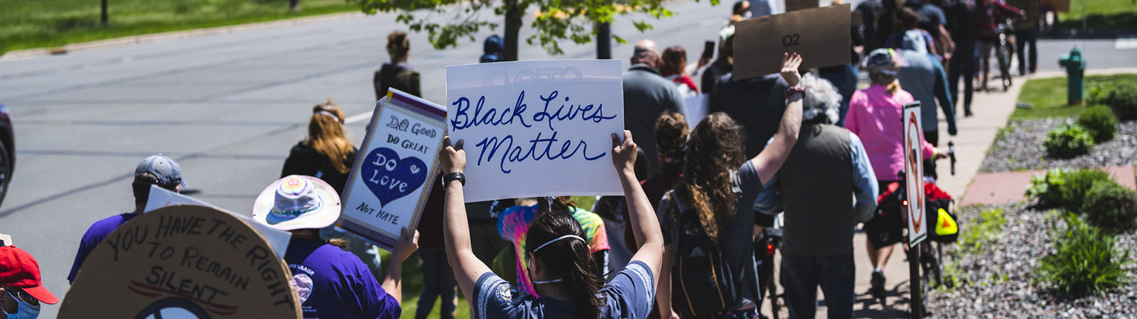 ASHLAND, WI #blacklivesmatter Protest