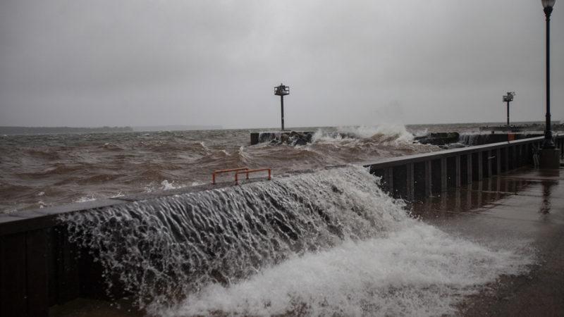 Lake Superior gail storm