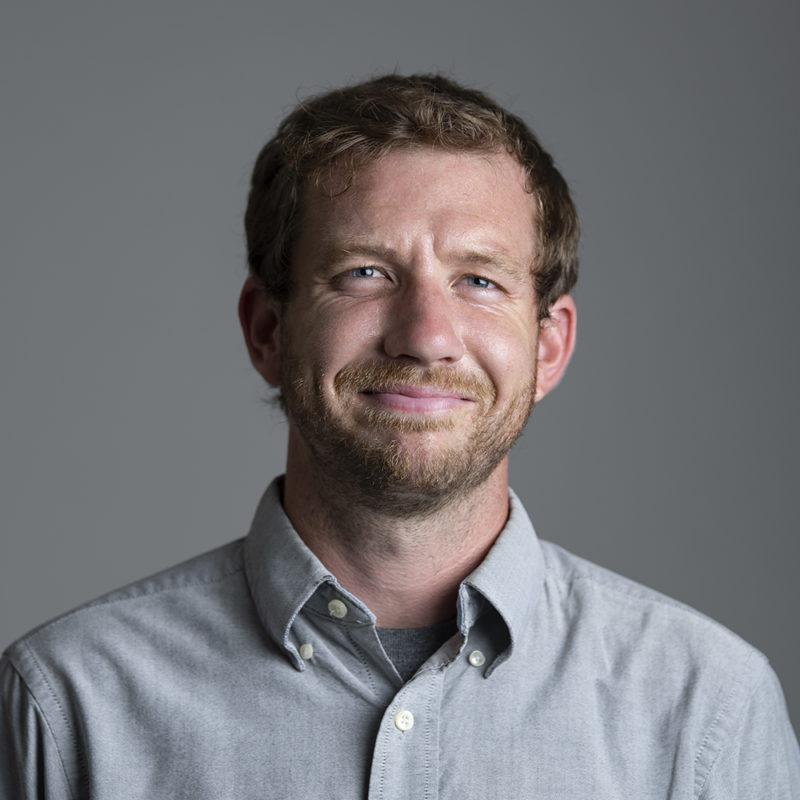 Portrait Tommy Mackey, faculty member
