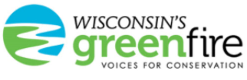 Wisconsin's greenfire logo